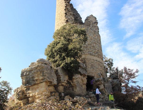 Castell de Sant Gervàs, Sant Miquel de la Vall- Casa turisme rural Casa Leonardo