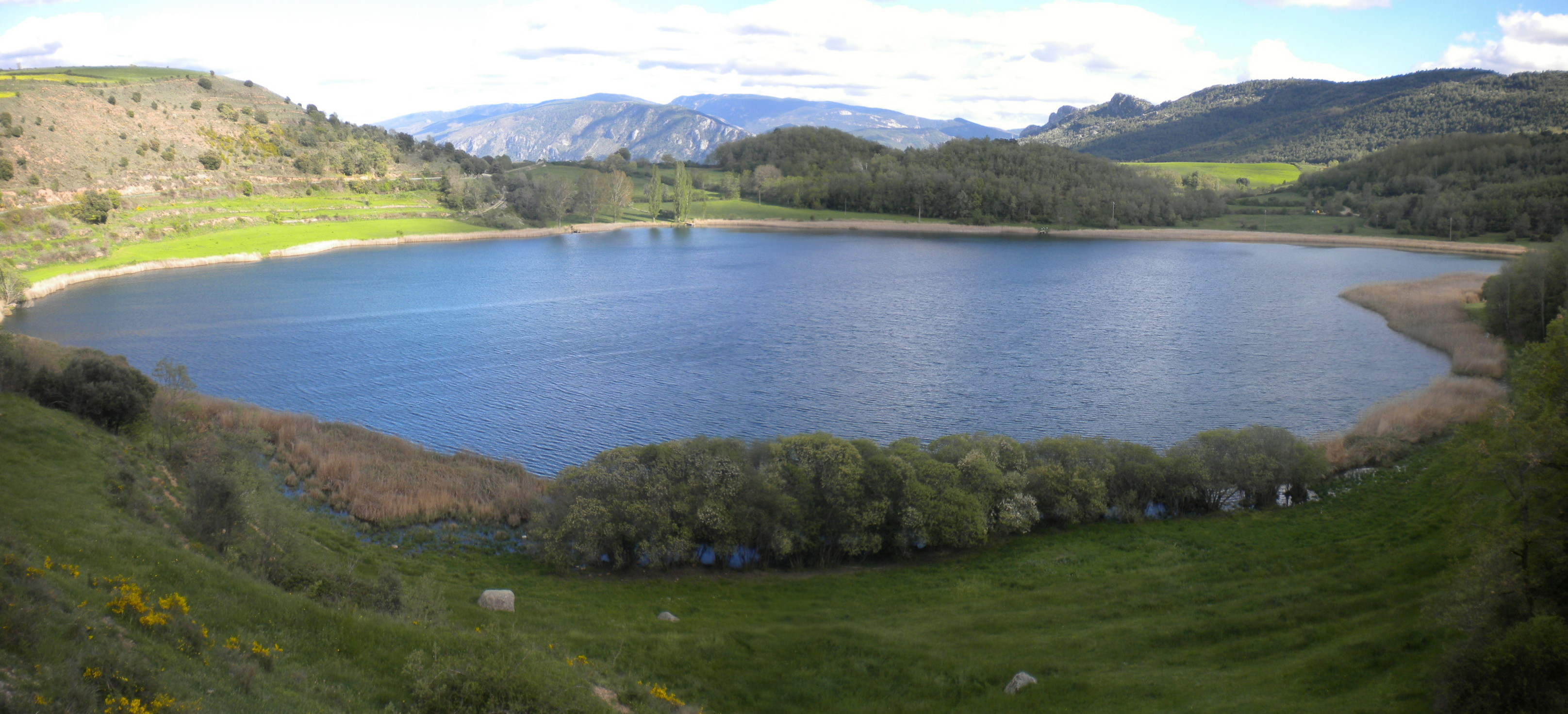 Panorama estany de Montcortés 3